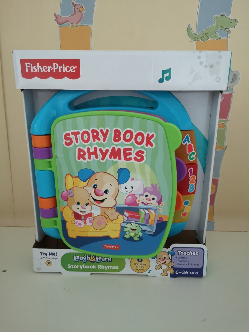 Bnip Fisher Price Story Book Rhymes Other Educational Toys Toys & Hobbies