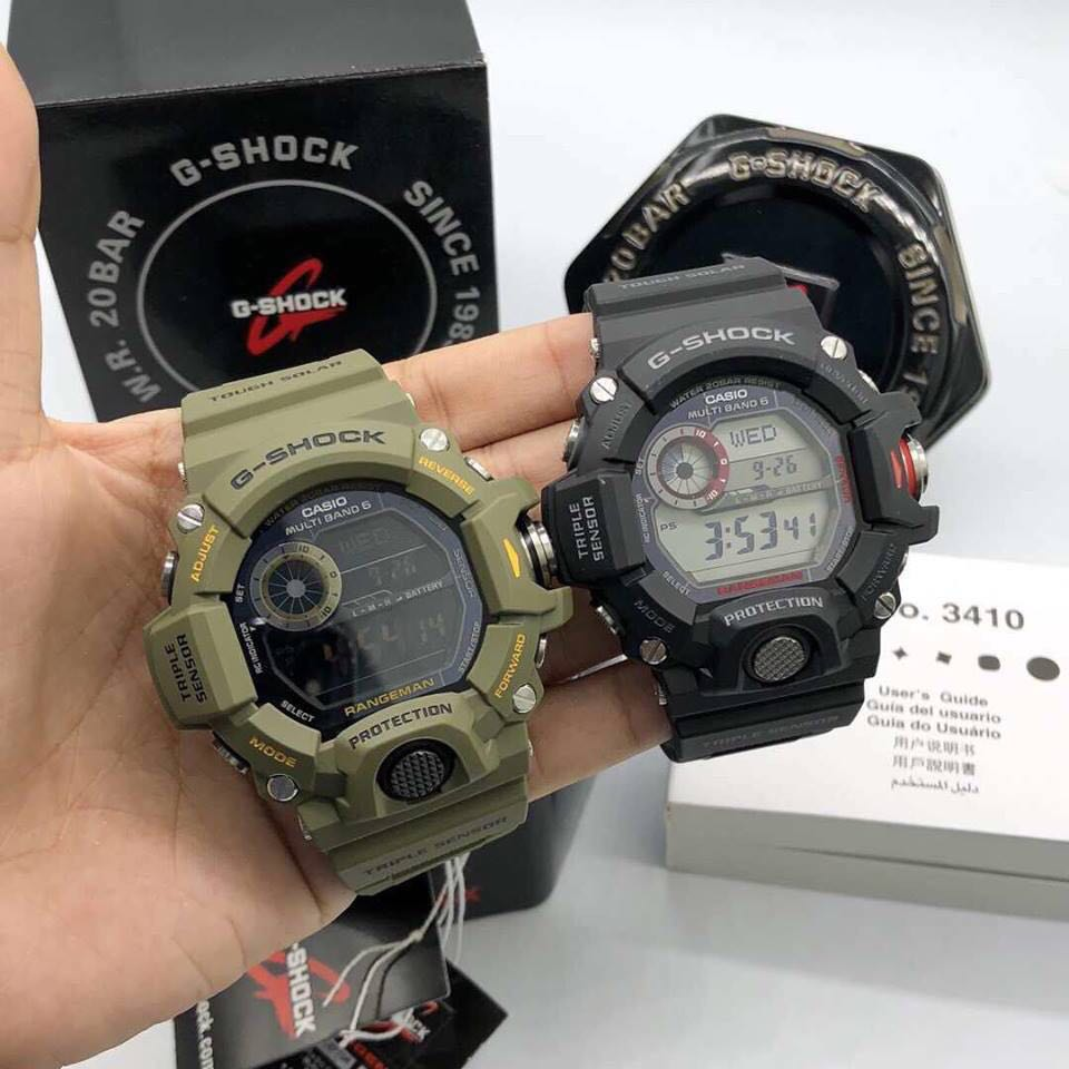 size 40 19a95 9a7cf G Shock Rangeman GW-9400 Watch, Men's Fashion, Watches on ...