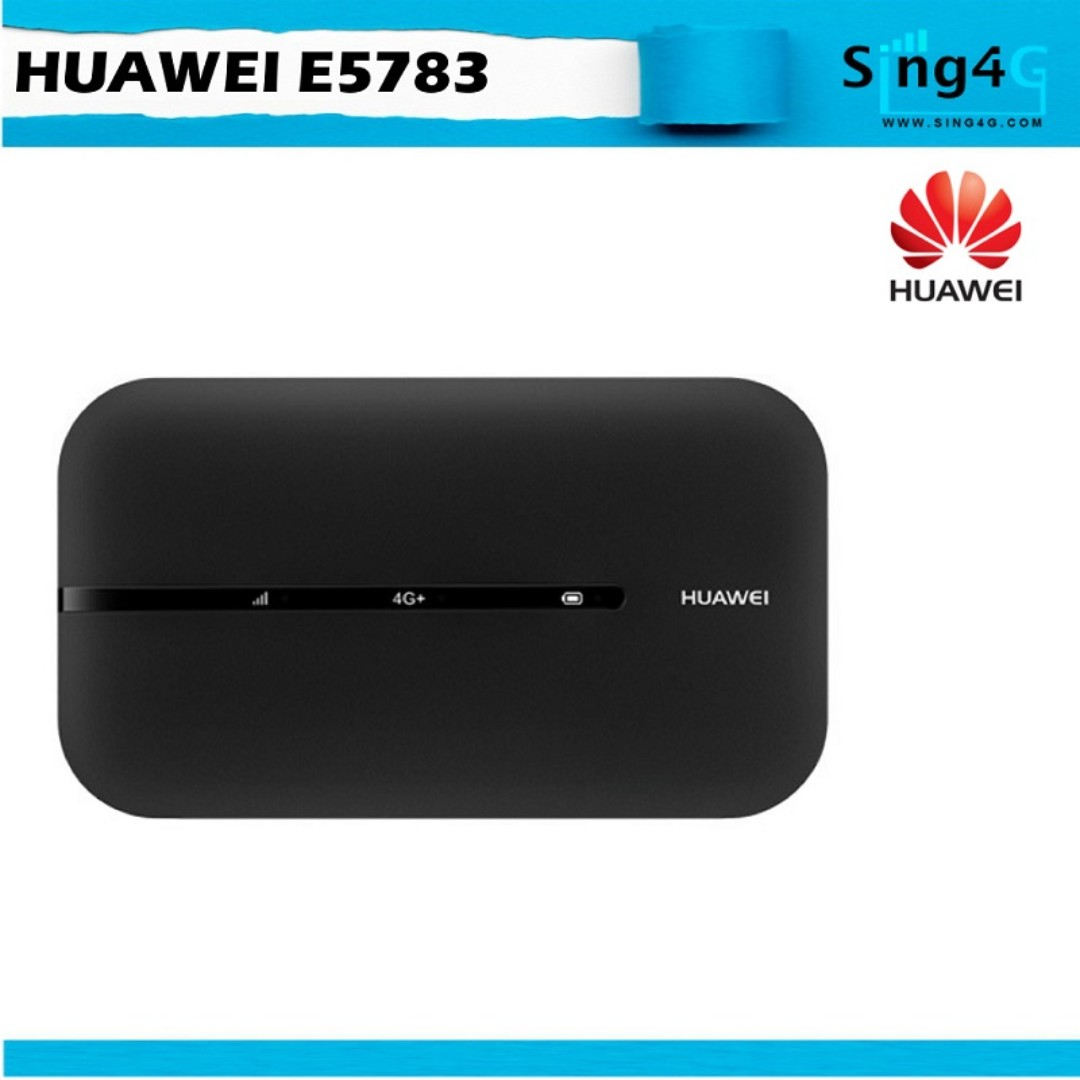 HUAWEI E5783 (4G 300Mbps 16WIFI Share Max 6hr) 4G MIFI Support Oversea Use