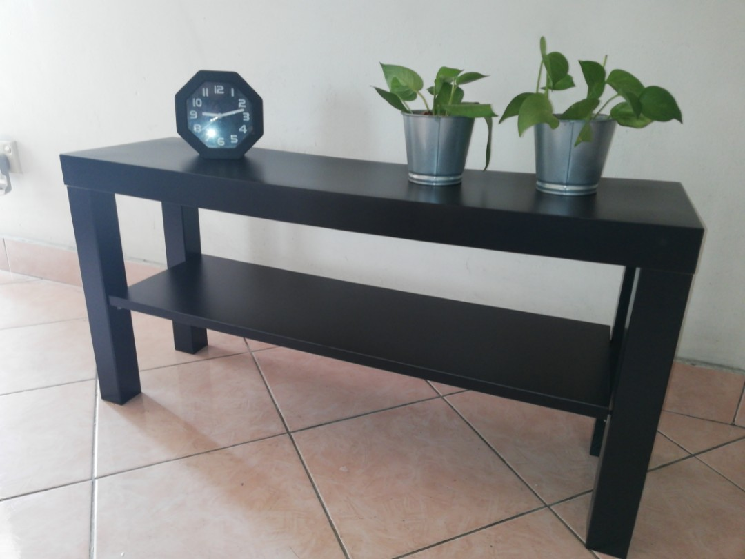 Phenomenal Ikea Lack Tv Stand Bench Tv Cabinet Console Table Black Gamerscity Chair Design For Home Gamerscityorg