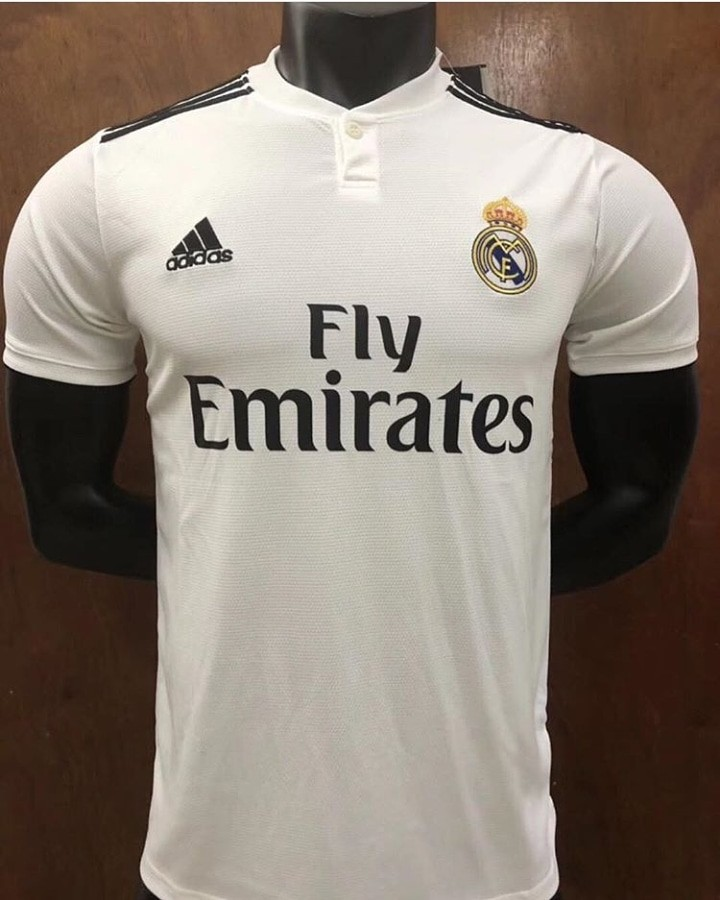 c984e4aa43f Jersey REAL MADRID Home
