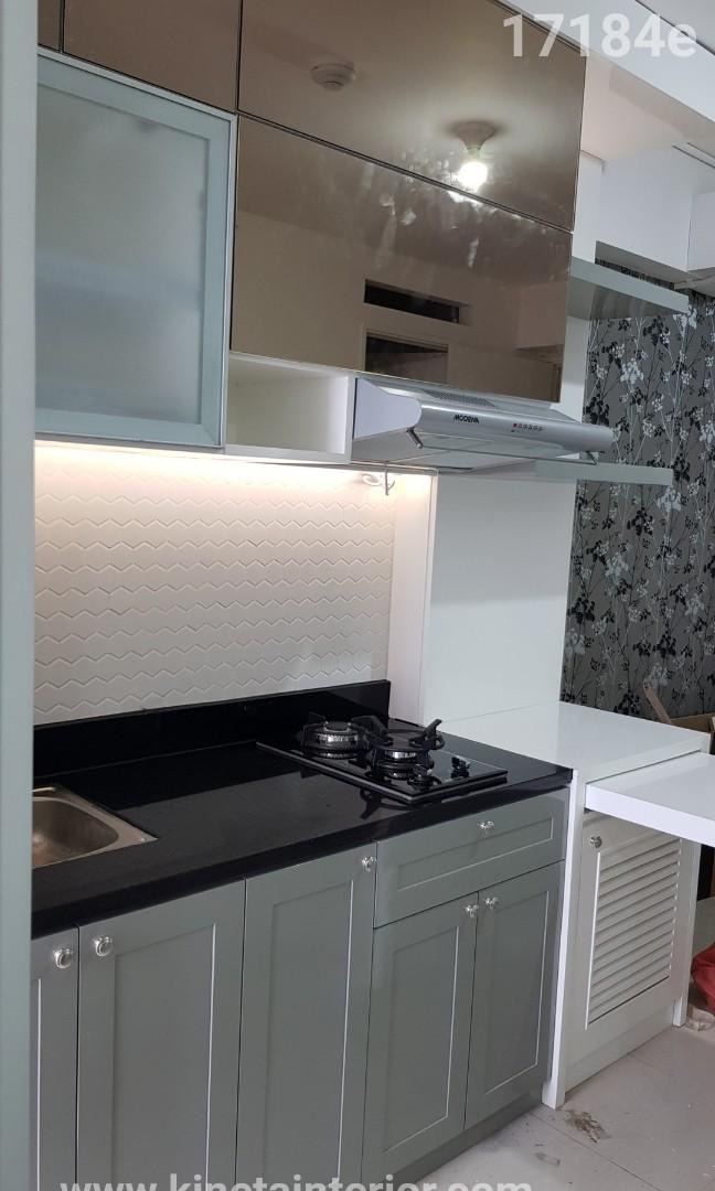 Kitchen Set Apartemen Cat Duco Home Furniture On Carousell
