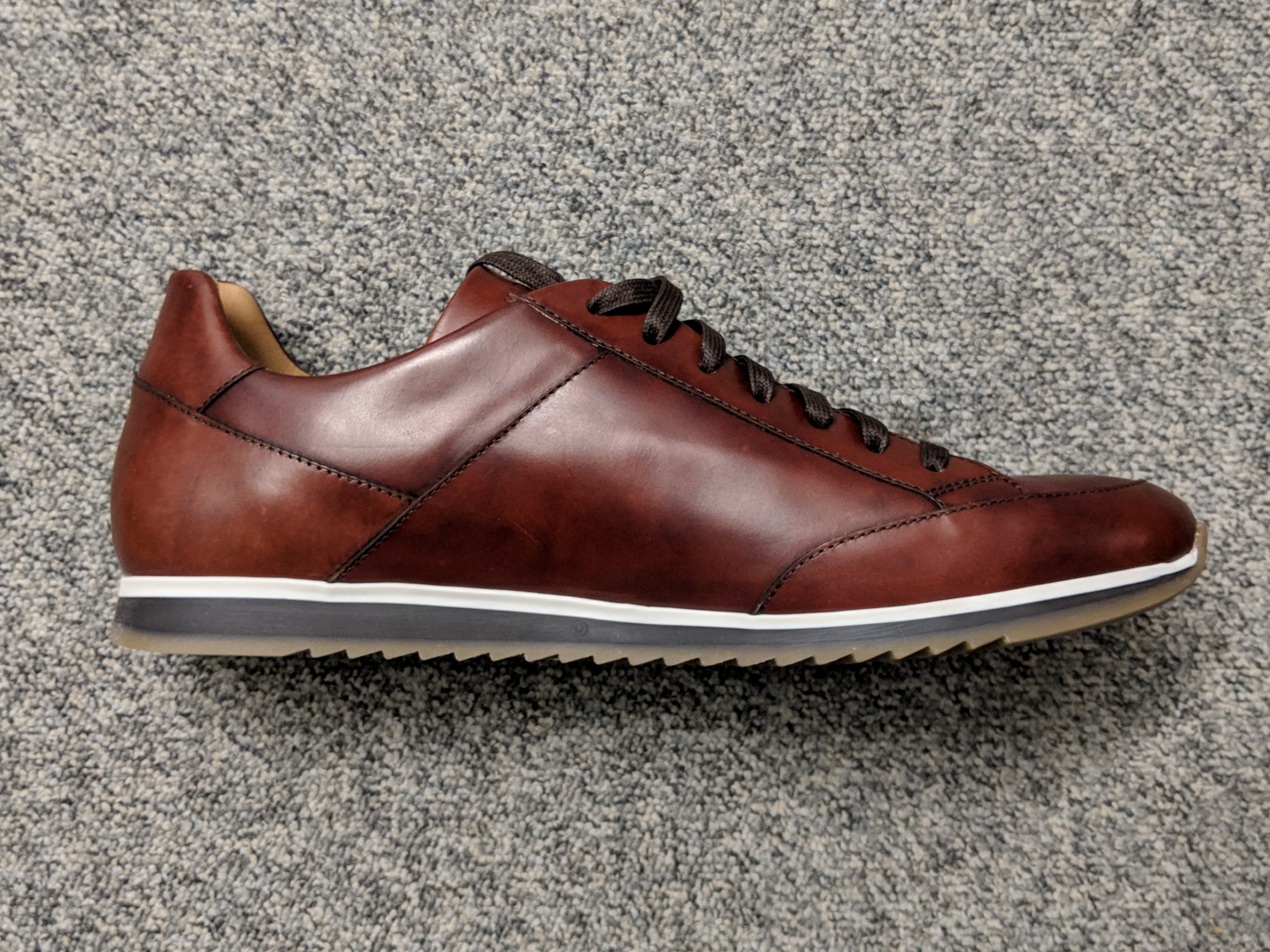 Magnanni Leather Sneakers 43, Men's
