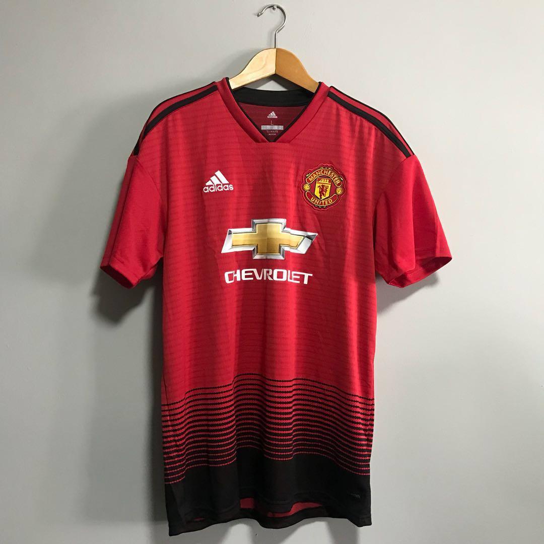 online store 9da81 9067a Manchester United Home Jersey 18/19