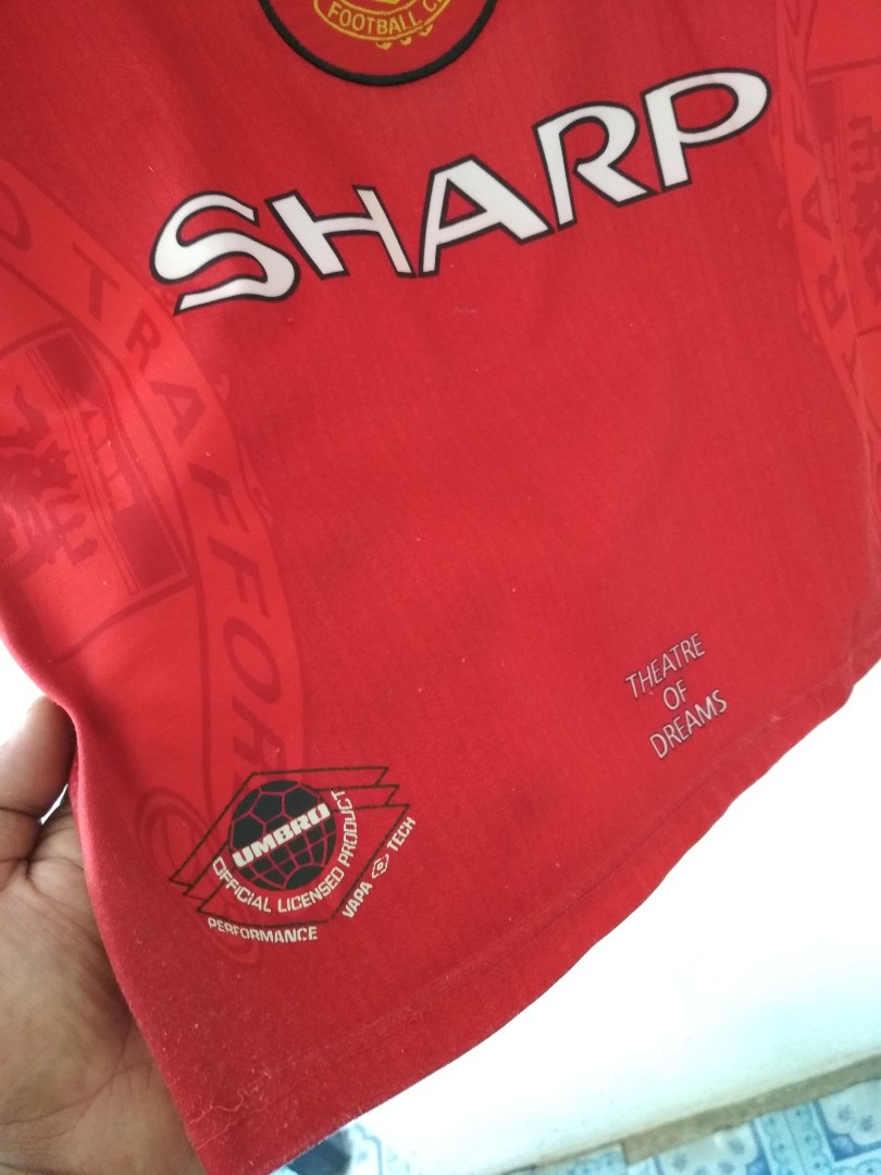 huge selection of eedf1 8cecd Manchester United Home Kit 1996-1998