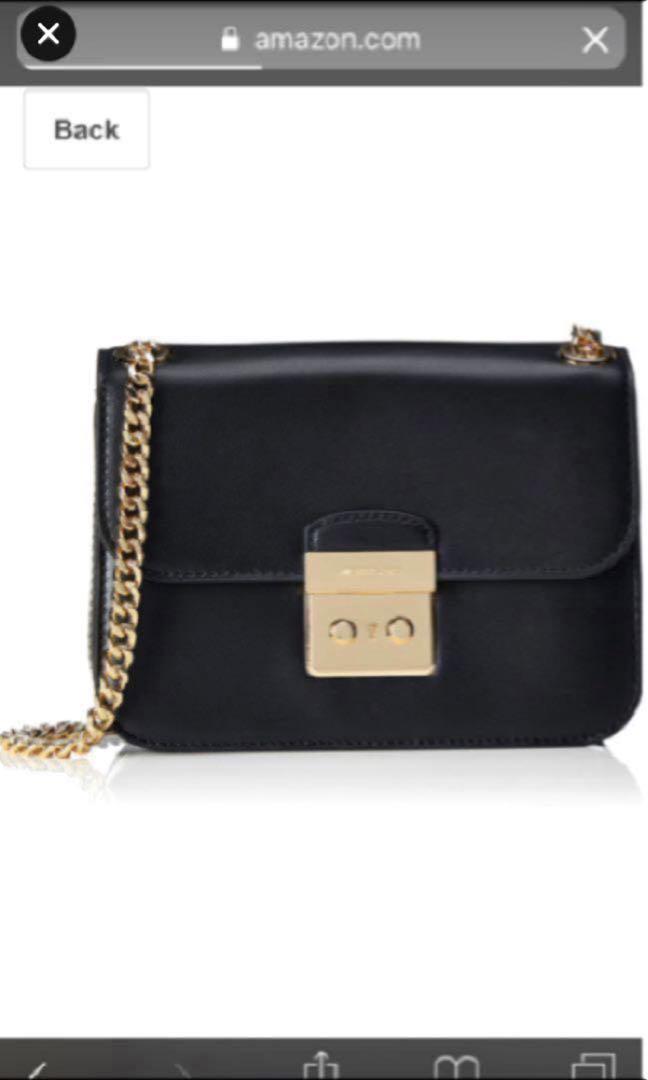 e98350039083 Michael kors sloan editor medium leather chain shoulder bag
