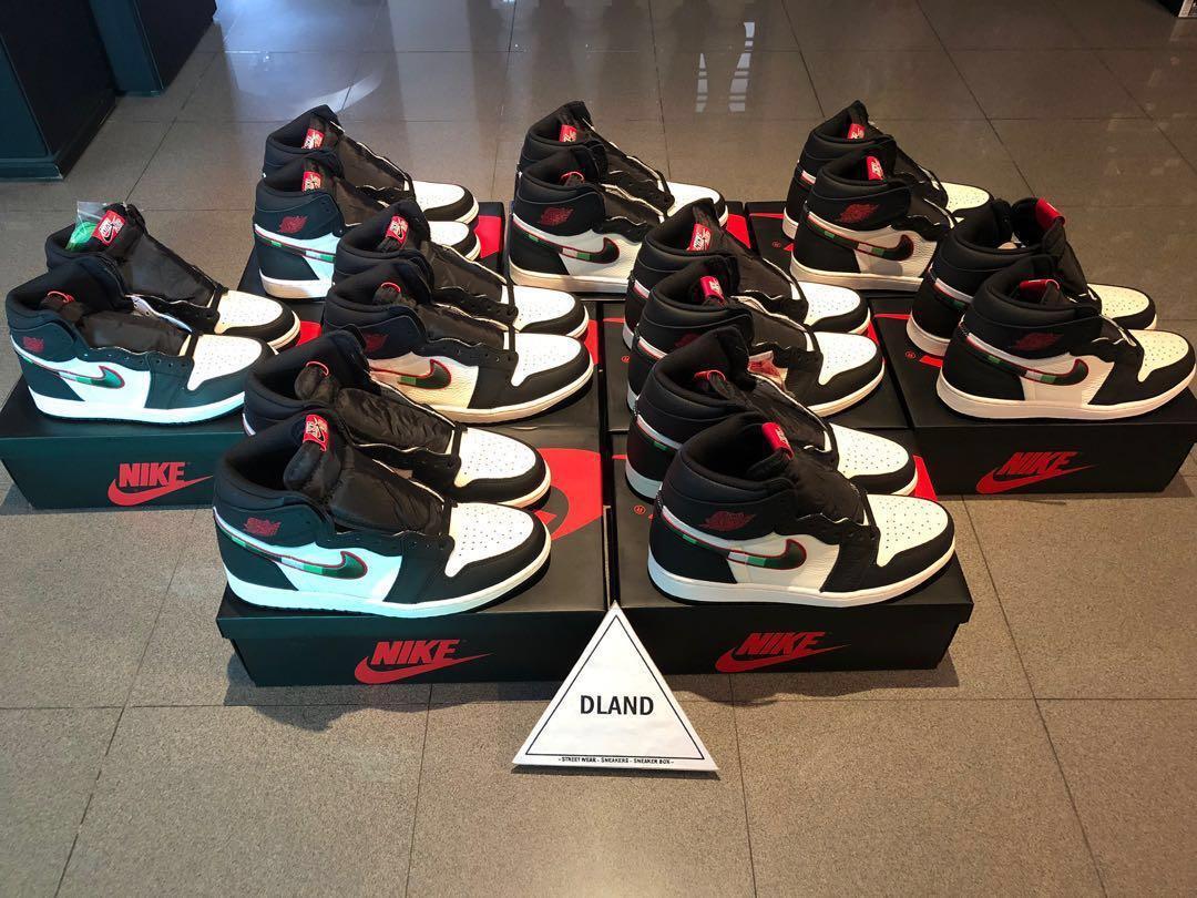 """cheap for discount 07bd3 5543e Nike Air Jordan 1 """"A Star Is Born"""", Men's Fashion, Footwear ..."""