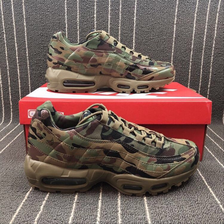 4d323db938ed8 Nike Air Max 95 (Camouflage edition)