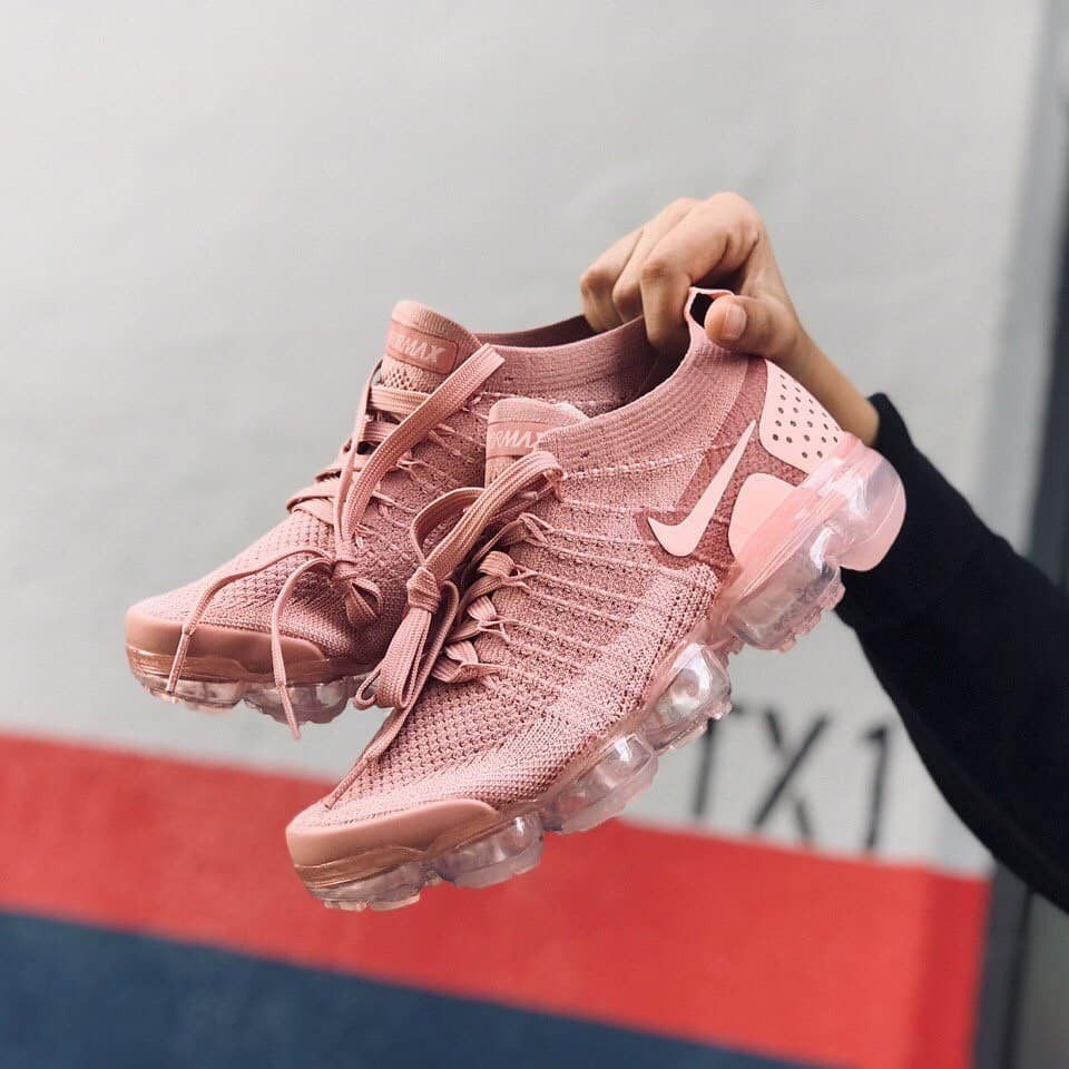 quality design 4d975 4e690 Nike Air Vapormax Flyknit 2 Rust Pink
