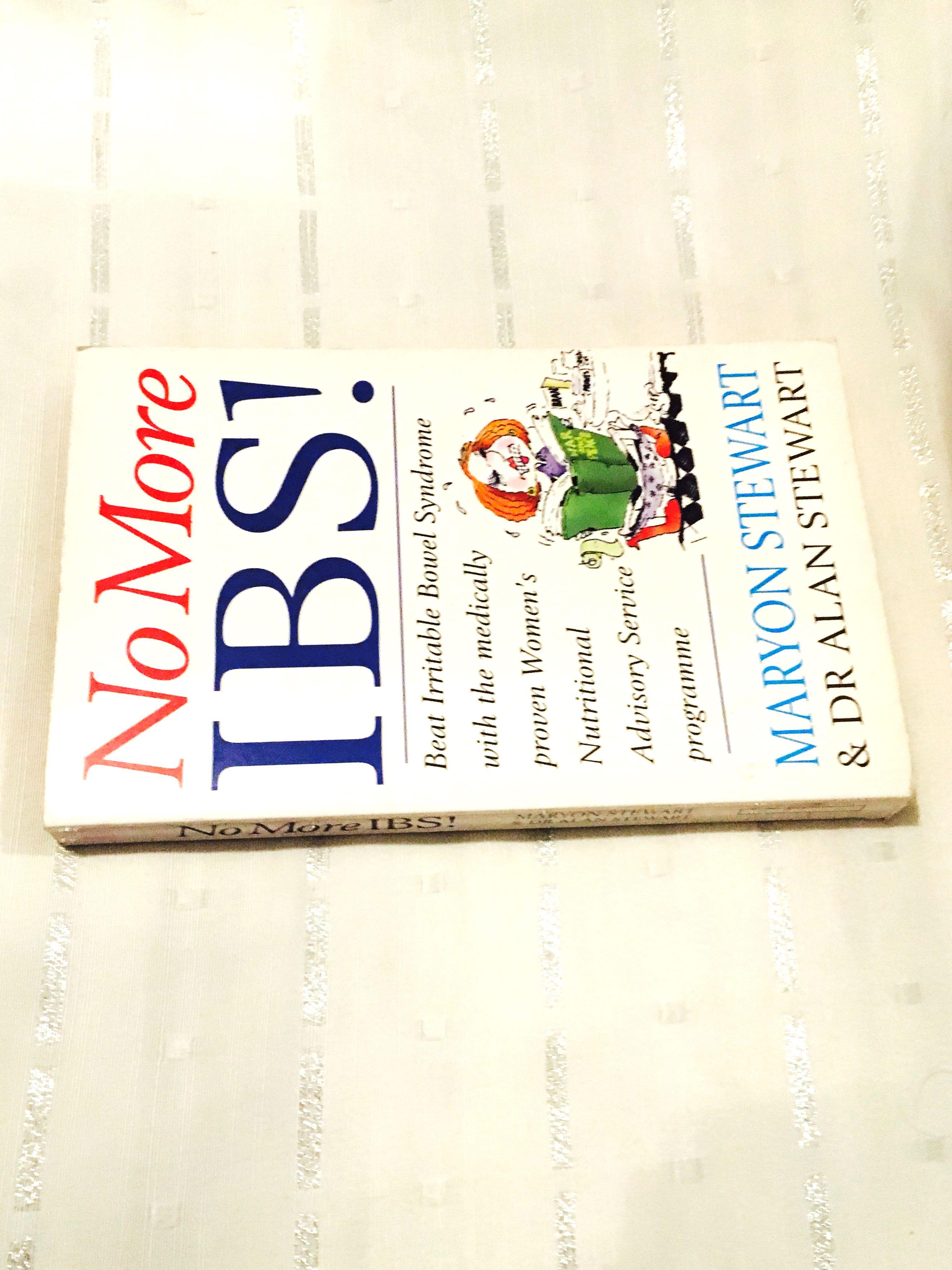 No More IBS! by Maryon Stewart Dr Alan Stewart Health Book