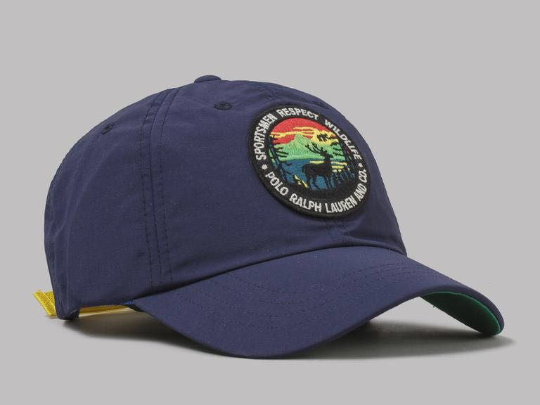 e2388f194a6 Polo Ralph Lauren  Sportsmen Respect Wildlife  Hiking Patch Cap ...