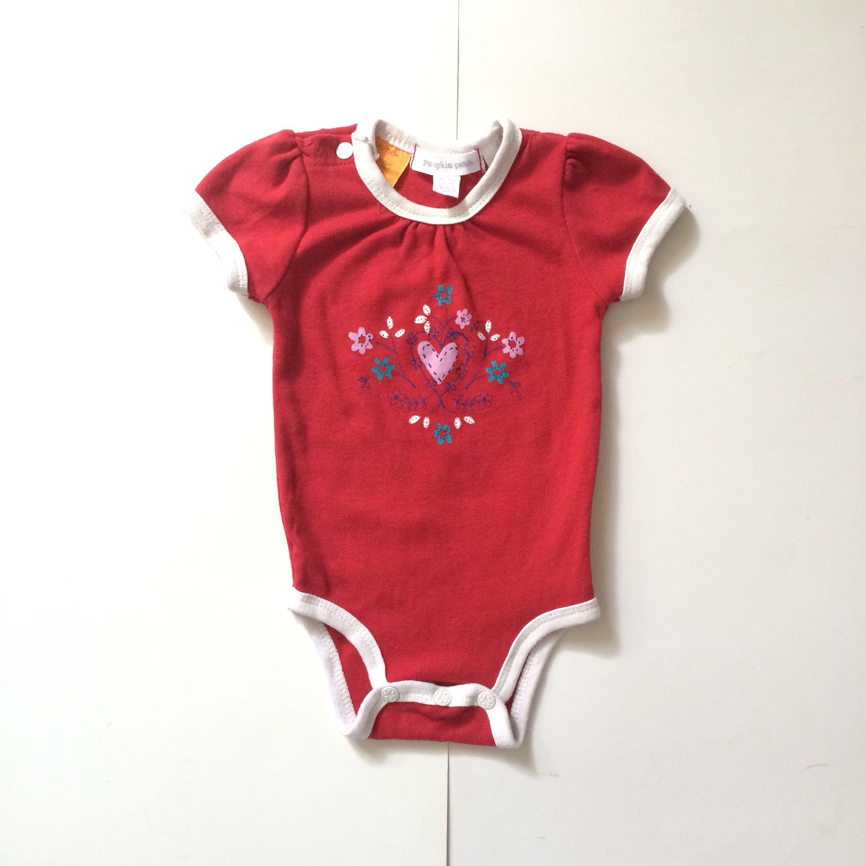 c159b0502efa PUMPKIN PATCH BABY GIRL ONESIE