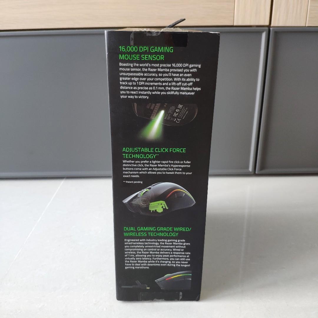 Razer Mamba Wired/Wireless Mouse, Electronics, Computer