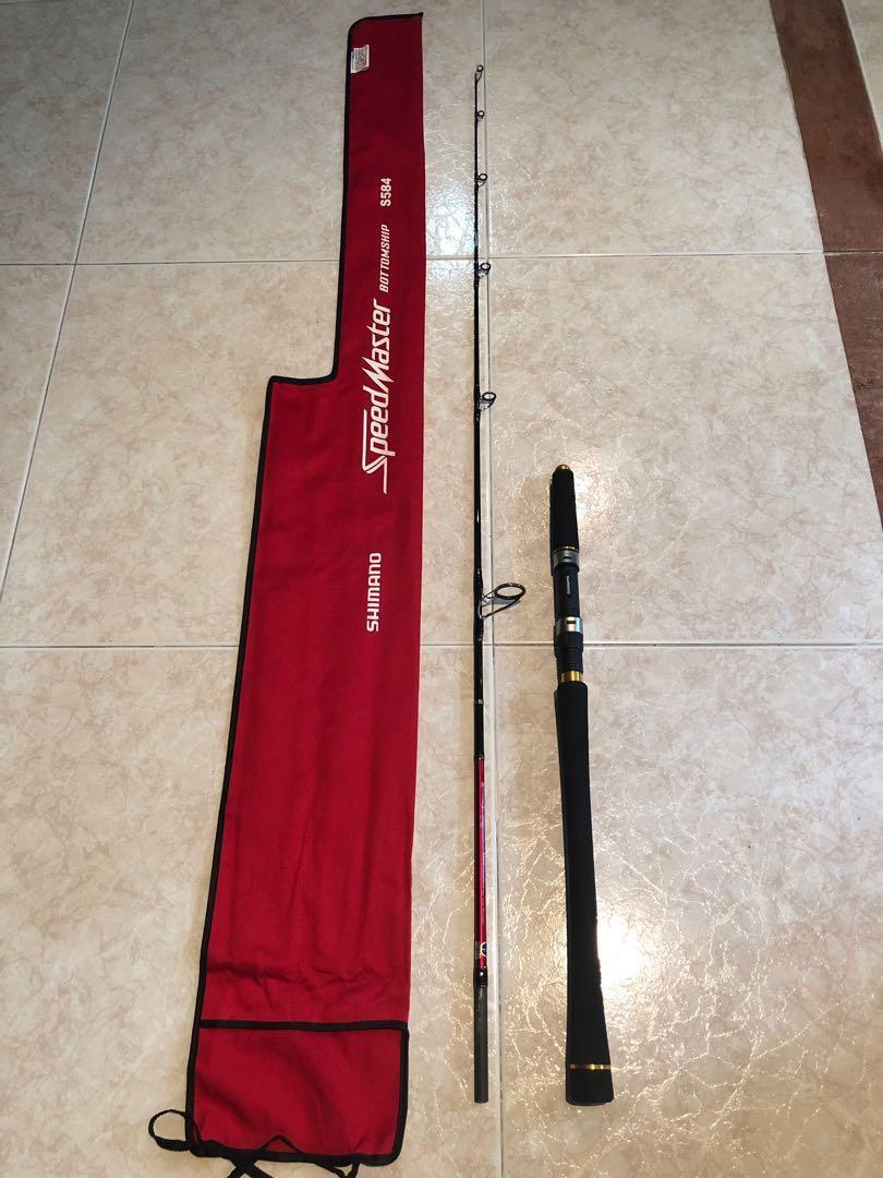 SHIMANO Speedmaster Bottomship Rod, Sports, Sports & Games