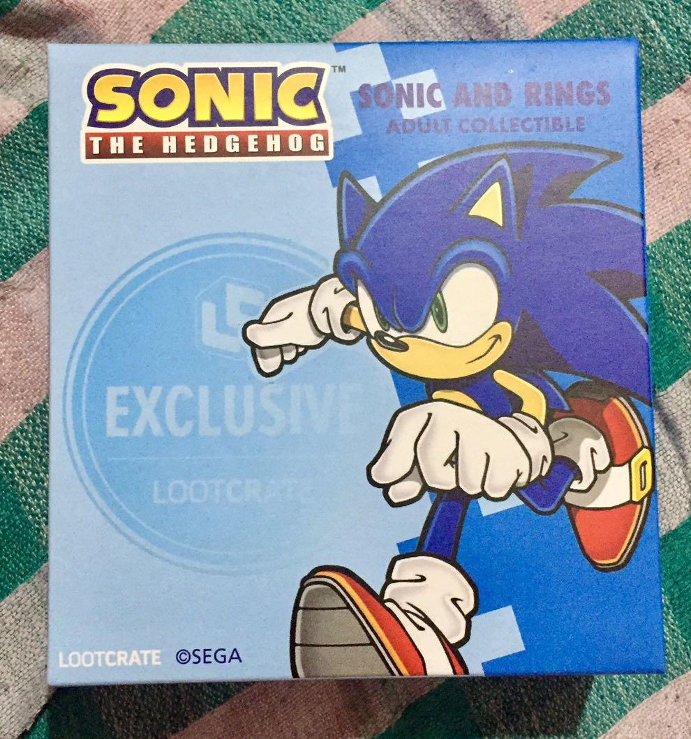 Sonic The Hedgehog Sonic And Rings Toys Games Toys On Carousell