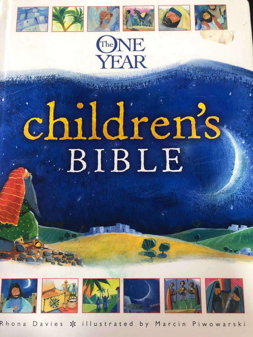 The One Year Children's Bible, Books & Stationery, Children's Books on  Carousell