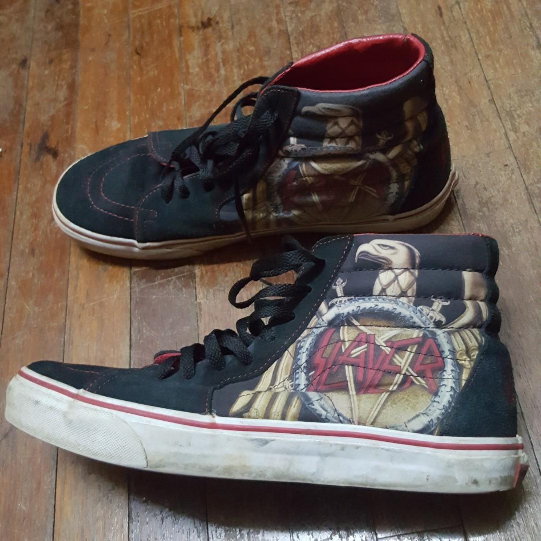 17f0139581 Vans Sk8 Hi x Slayer