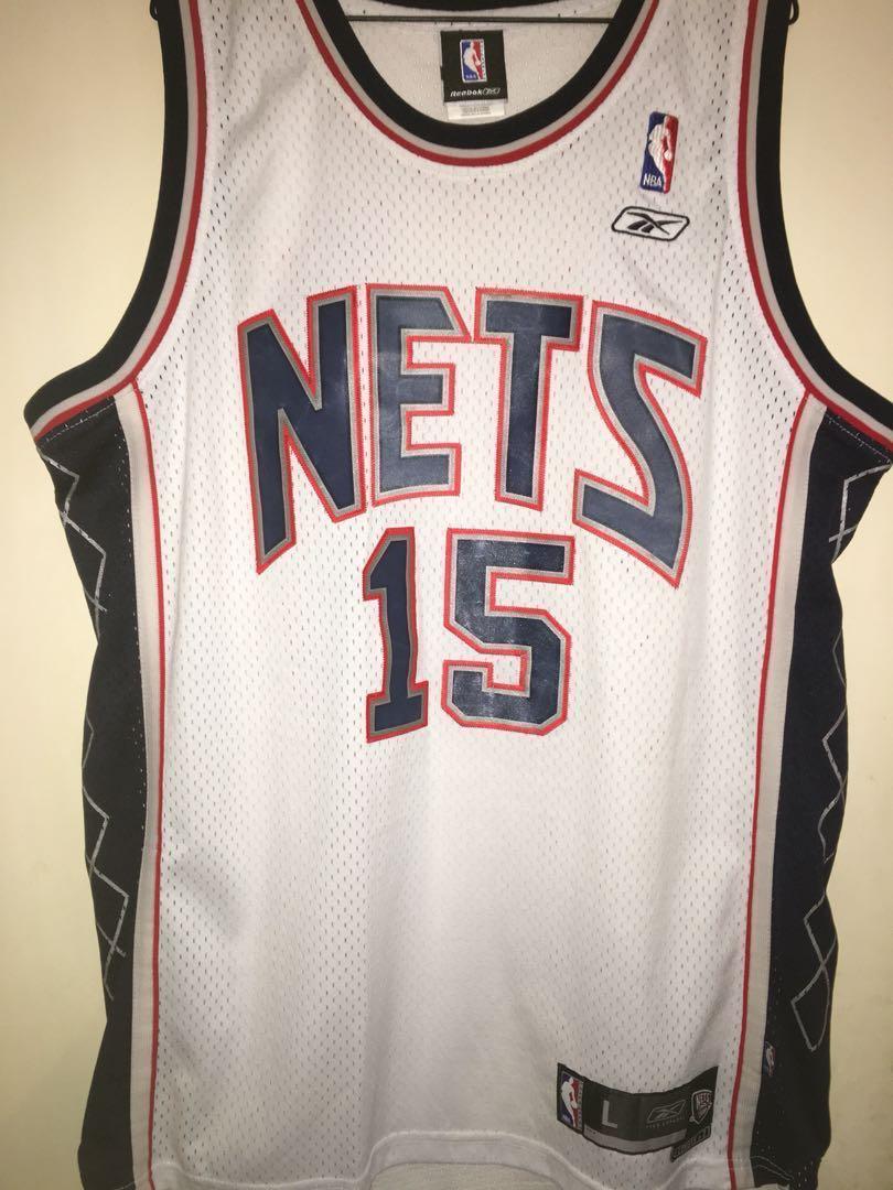 brand new 438c6 6176b Vince Carter New Jersey Nets Jersey