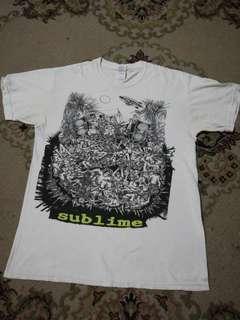 Sublime Skunk Record cartoon T shirt