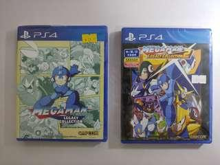 Brand new PS4 Megaman collections 1 & 2