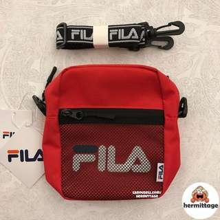 [AUTHENTIC, CLEARANCE] FILA SS18 Shoulder Sling Bag - RED