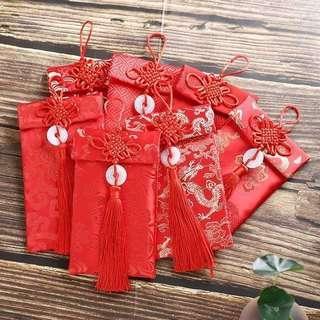 🚚 中國結布藝紅包袋