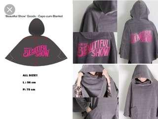 B2ST Beautiful Show Cape Blanket