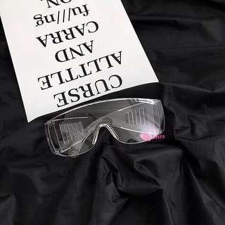 🕶現貨🎧ulzzang bts exo原宿百搭全透明大框復古眼鏡 網紅同款個性 防風鏡男女凹造型百搭眼鏡護目鏡