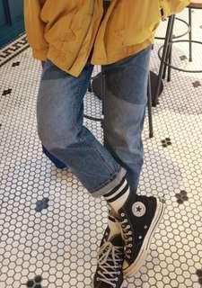 custom boyfriend jeans / mom jeans