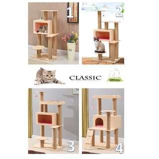 TV Box Design Stylish Cat Tree Condo