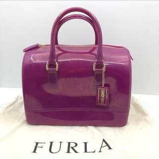 🚚 Furla Candy Jelly Bag in Dragonfruit (Authentic)