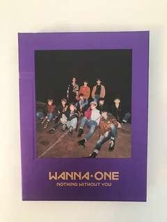 Wanna One; Nothing Without You Album (Wanna Version)