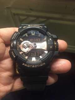 Casio Gshock GA-400GB九成新
