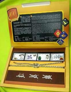 2007世界童軍運動100周年紀念郵票套摺(香港郵政發行)