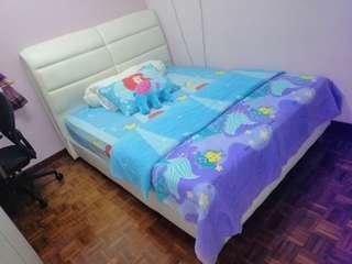 Queen size Divan Bed Set m