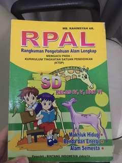 Buku pelajaran anak SD (IPA IPS)