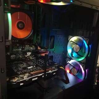 E3-1240V2/1060 6G/500W80+/14G/Z68 PRO3 GEN3/新機殼/RGBX4