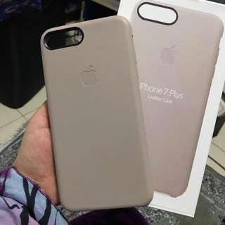 Iphone leather case Beige for ip7+/8+