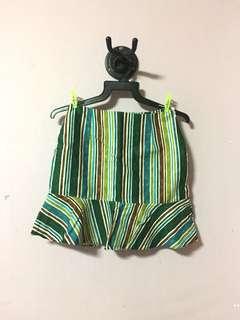 b807d526dac 🔥[CLEARANCE SALE] Korea style green striped skirt