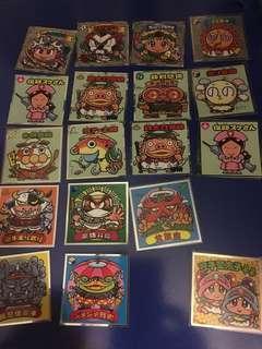 仙魔大戰 33彈 威化餅 貼紙