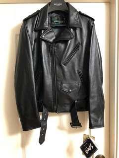 全新fragment x schott one star leather biker jacket new 日本限定