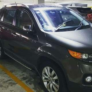 TIP TOP CONDITION SUV KIA SORENTO 2.4A (7 SEATER) FOR RENTAL.
