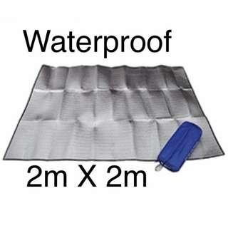 Waterproof Double Sided Foil Camping Picnic Mat Groundsheet