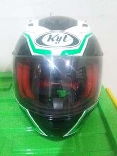 Helm full face kyt rc7 size L