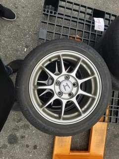 "Honda's Genuine Rim 16""inch"