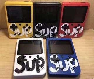~READY STOCK BN~ Sup X Game Box Retro Handheld Game Console Emulator Built-In 400 Old Time Classic Games
