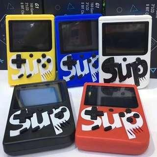 ~LAST FEW SETS BN~ Sup X Game Box Retro Handheld Game Console Emulator Built-In 400 Old Time Classic Games