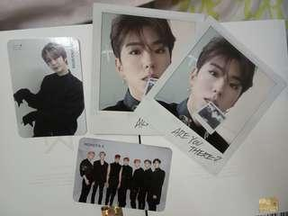 MONSTA X ARE YOU THERE PHOTOCARDS