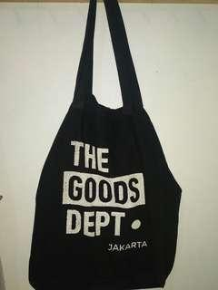 Tote bag. The Goods Dept