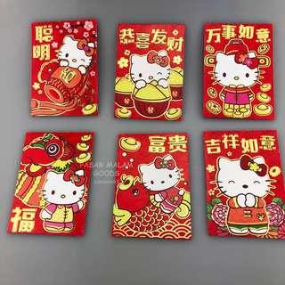 Instock Hello Kitty Ang Pao Red Packet Packers